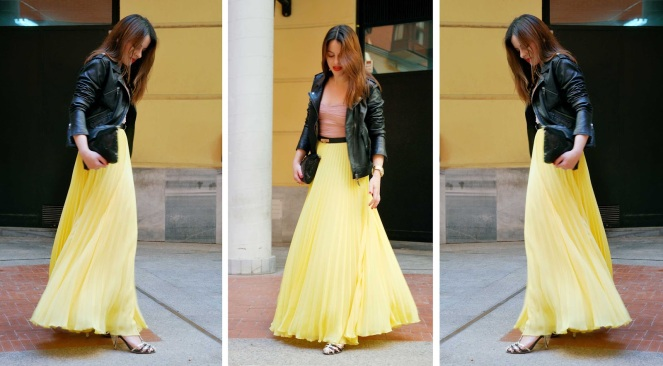 yellow-pleated-skirt-2