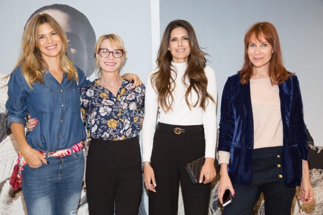 Pia Slapka Gloria Carra Isabel Macedo y Matilda Blanco pasaron a conocer la nueva colección de Portsaid (2)