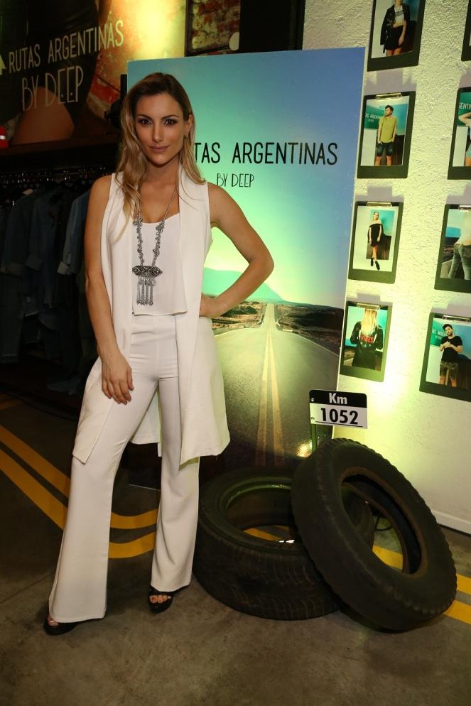 Sofia Macaggi presente en el lanzamiento de By Deep SS18 Rutas Argentinas