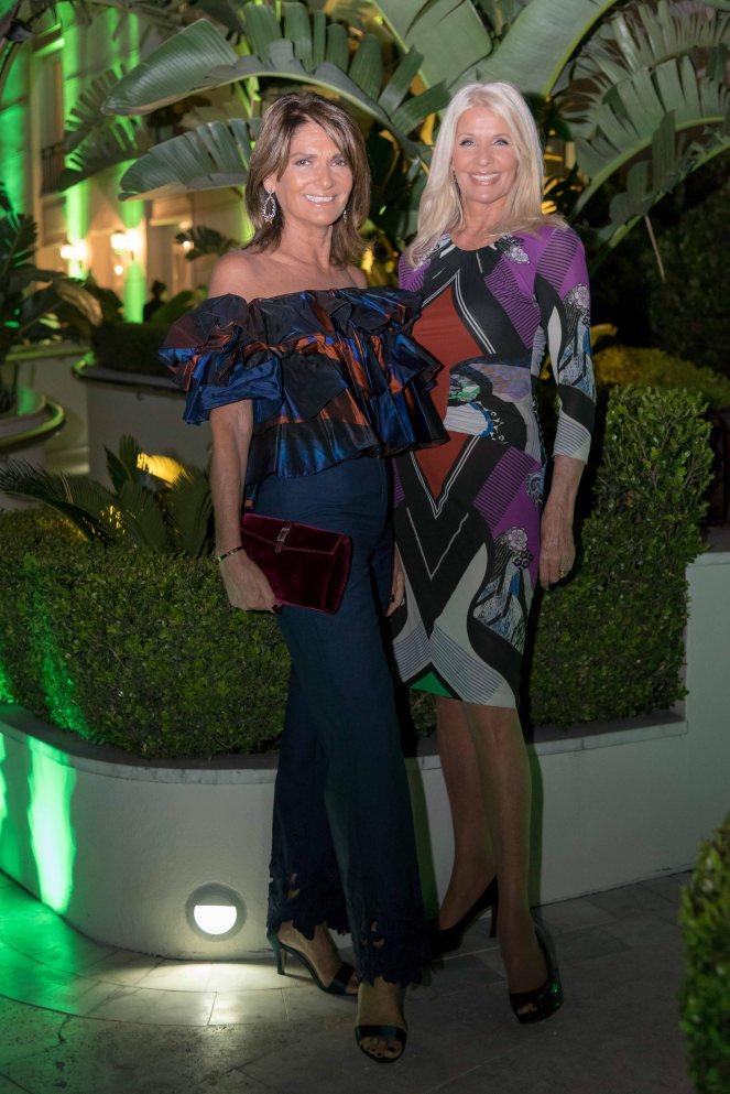 Teresa Calandra y Evelyn Scheidl en el lanzamiento de temporada de Nuestro Secreto invitadas por Juan Gaffuri y Gastón Acurio