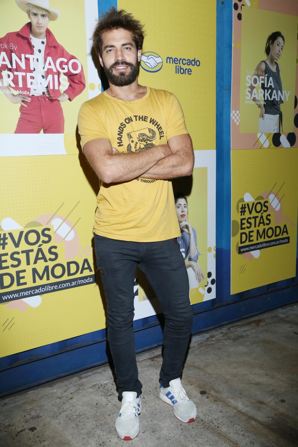 Benjamín Alfonso en el evento de Mercado Libre Moda