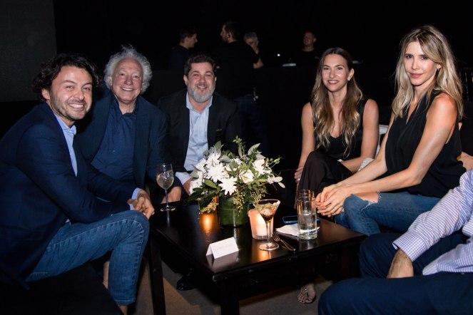 Wally Diamante Guillermo Coppola Lautaro Mauro Andres Bursten y Guillermina Valdes
